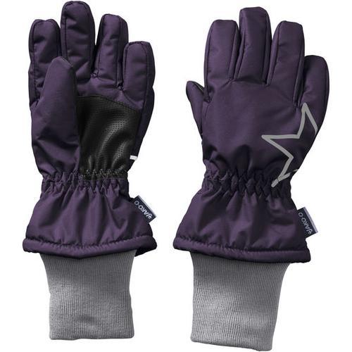 Fingerhandschuh Stern, lila, Gr. 5