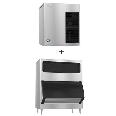 Hoshizaki F-1501MAJ/B-1150SS 1543 lb Flake Ice Maker w/ Bin - 1148 lb Storage, Air Cooled, 208-230v/1ph