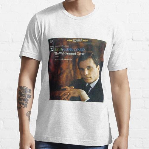 Glenn Gould, Bach, Wohltemperiertes Klavier, Klavier Essential T-Shirt