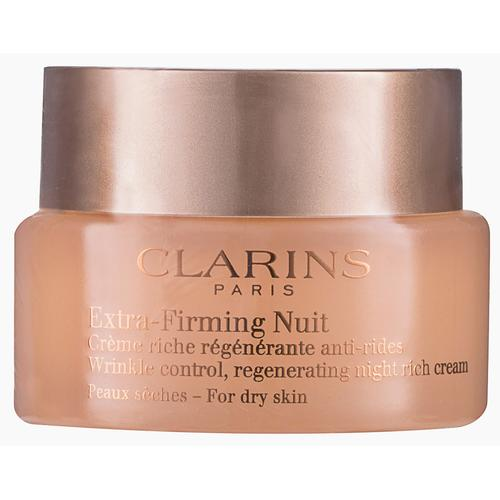 Clarins Extra-Firming Nuit Peaux Sèches Nachtcreme 50 ml
