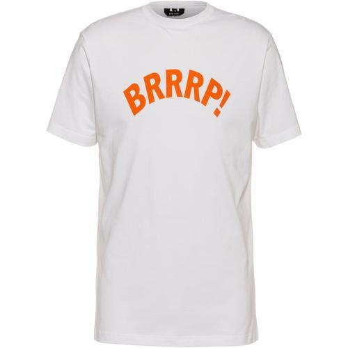 Gym Yilmaz BRRRP! x SportScheck T-Shirt in white-orange, Größe XL