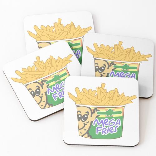 Kartoffelecke Mega Fries Untersetzer