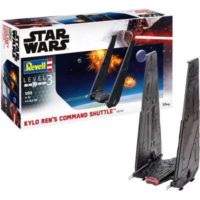 Revell Modellbausatz Star Wars Kylo Rens Command Shuttle, 1:93, Made in Europe grau Kinder Ab 9-11 Jahren Altersempfehlung