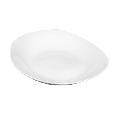 CAC EVT-BT10 32 oz Everest Salad Bowl - Porcelain, Bone White