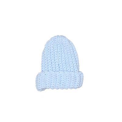 Beanie Hat: Blue Accessories - Size Newborn