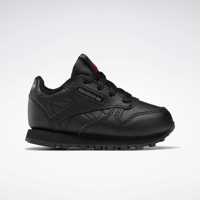 Reebok Unisex Classic Leather Shoes - Toddler in Black Size 5 - Lifestyle Shoes
