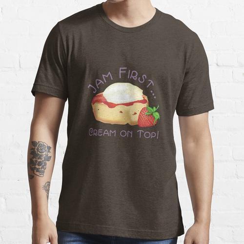 Jam First - Creme an der Spitze! Essential T-Shirt