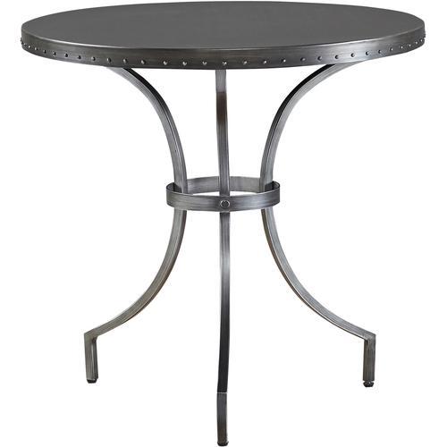 Leonique Beistelltisch Curated, im Industrial Style, Gestell aus Metall silberfarben Beistelltische Tische