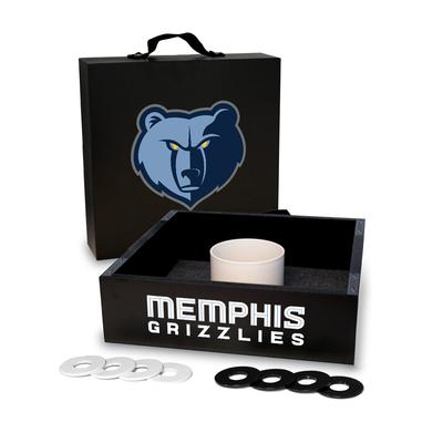 """""""Memphis Grizzlies Onyx Stained Washer Toss Game Set"""""""