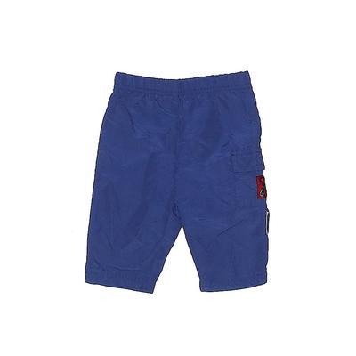 Casual Pants - Elastic: Blue Bot...