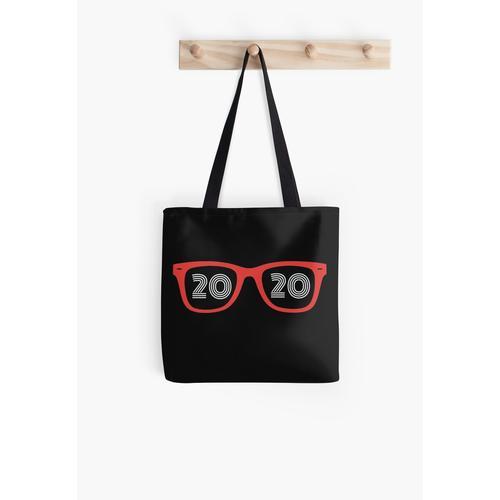 Brillen Brille 20/20 Optiker Augenarzt Hipster Optiker Tasche