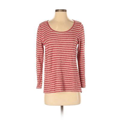 J.Jill Pullover Sweater: Red Str...