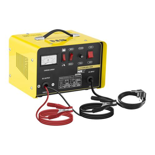 MSW Autobatterie-Ladegerät - Starthilfe - 12/24 V - 20/30 A S-CHARGER-50A
