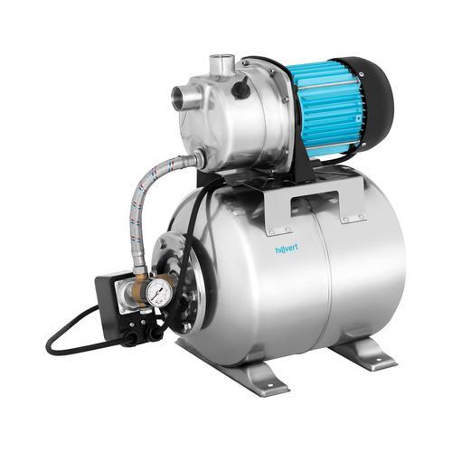 hillvert Hauswasserwerk - 3.500 L/h - 1.200 W - Edelstahl HT-ROBSON-JP1200CS