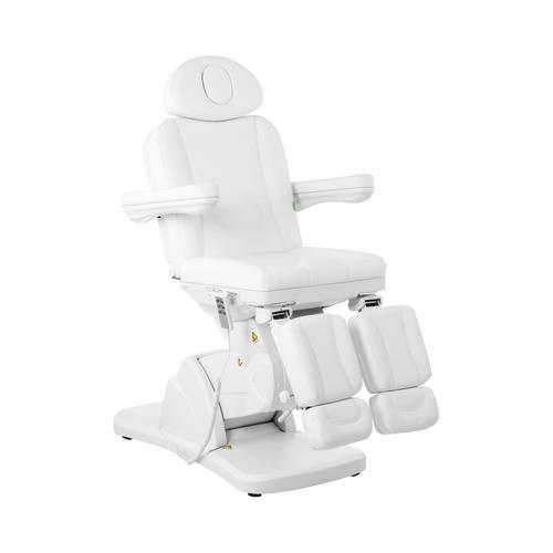 physa Fußpflegestuhl LA PAZ WHITE - elektrisch
