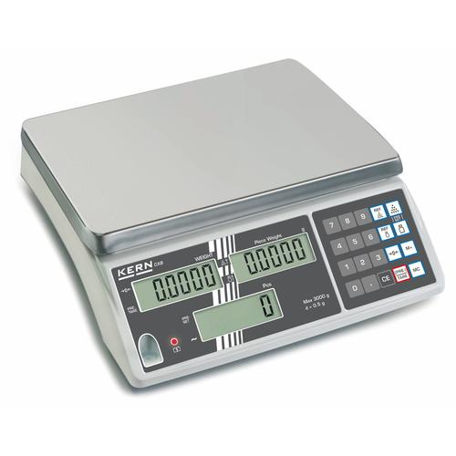 KERN Zählwaagen - 15.000 g / 5 g - optional geeicht KERN Zählwaagen CXB 15K5NM Optional eichfähig
