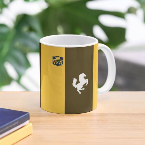 Box Hill Footy Jumper Kaffee-Haferl Tasse