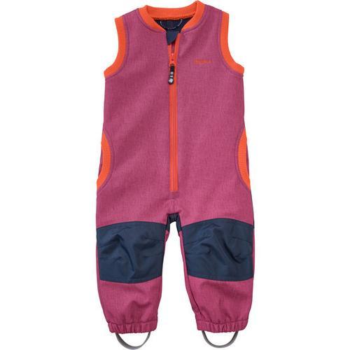 Softshell-Latzhose, pink, Gr. 68/74
