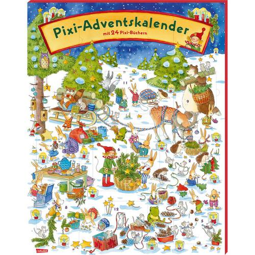 JAKO-O Pixi Adventskalender 2019, bunt