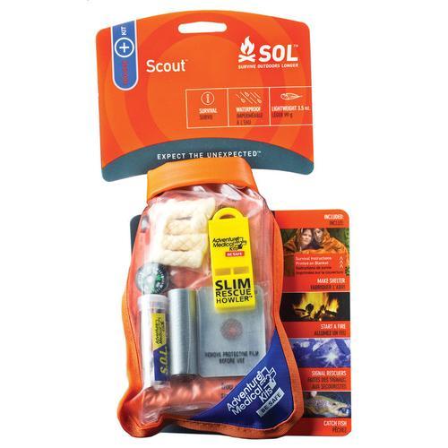 Klim S.O.L. Survival Pak Erste Hilfe Set, orange