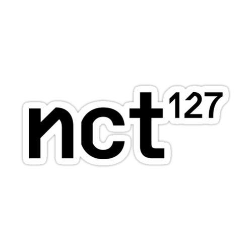 NCT 127 - Regular-Irregular Basic Logo Sticker
