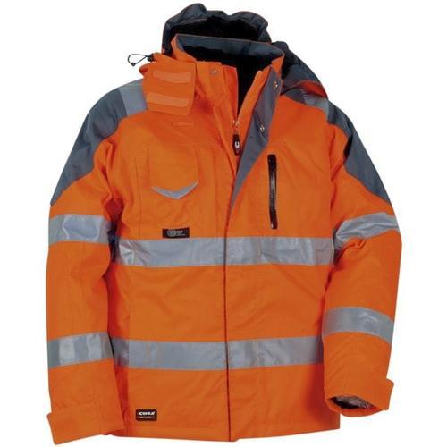 Warnschutz Thermo-Winterjacke »RESCUE« Größe 50 orange, Cofra