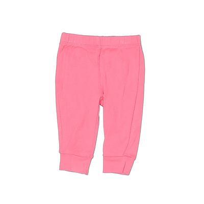 Carter's Leggings: Pink Solid Bo...