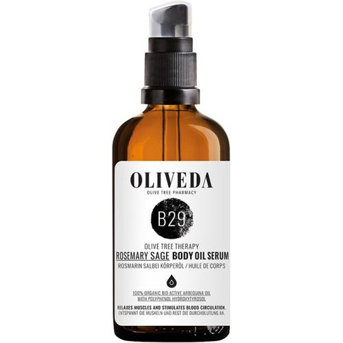 Oliveda B29 Körperöl Rosmarin Salbei - Activating 100 ml