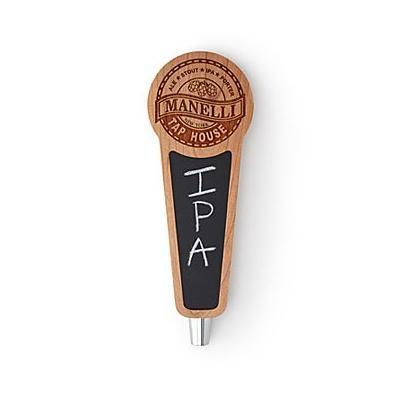 Custom Chalkboard Beer Taps