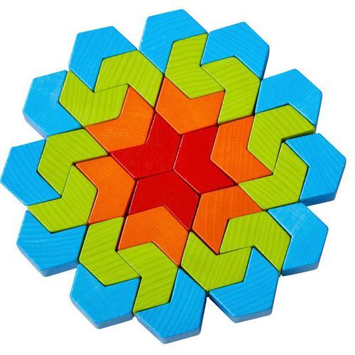 HABA Legespiel Kaleidoskop-Steine, bunt