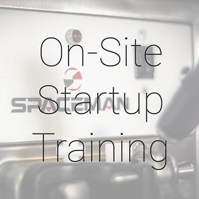 Spaceman TRAININGONSITE On-Site Startup Training