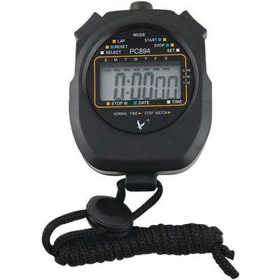 chronomètre digital black 1/100e