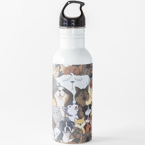Pupper Party Wasserflasche
