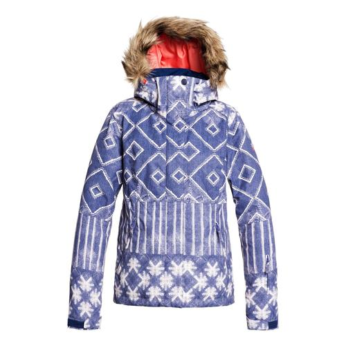 Roxy Snowboardjacke Jet Ski blau Damen Jacken Mäntel