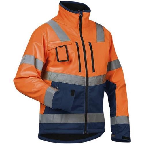 Warnschutz-Softshelljacke »4900« Größe XL orange, Blakläder