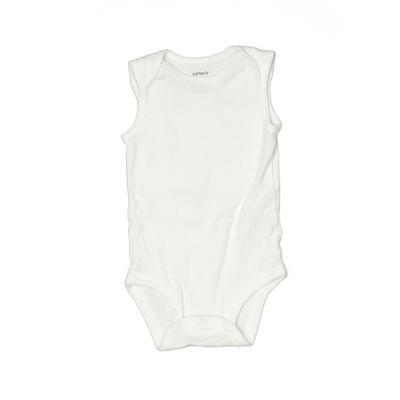 Carter's Short Sleeve Onesie: Wh...