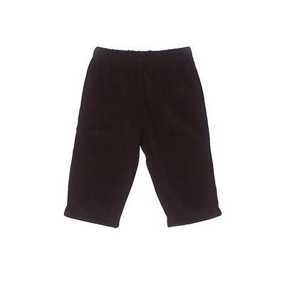 Carter's Fleece Pants - Elastic: Brown Sporting & Activewear - Size 6 Month