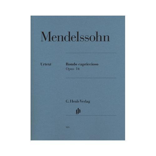 Henle Verlag Mendelssohn Rondo