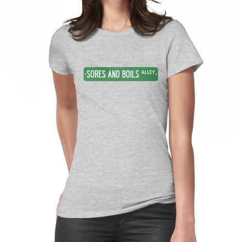 Wunden und Furunkel Zeichen Frauen T-Shirt