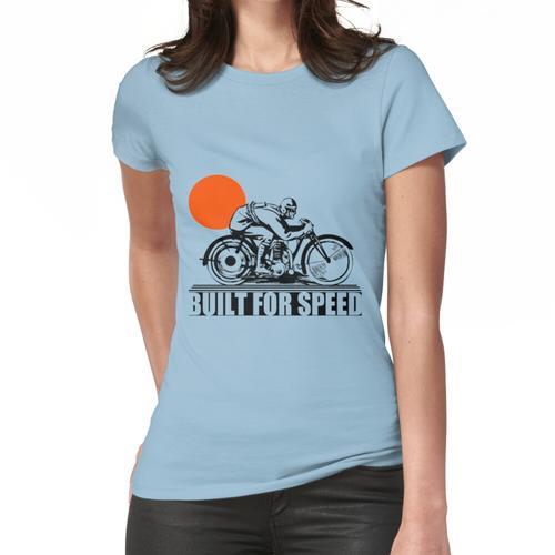 GEBAUT FÜR SPEED-VINTAGE MOTORRAD Frauen T-Shirt