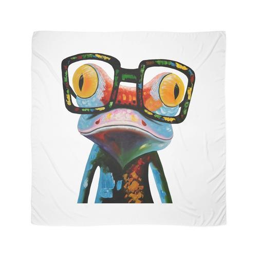 Hipster Frosch Nerd Brille Tuch