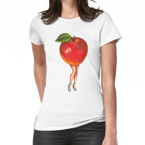 Obststand - Apple Girl Frauen T-Shirt