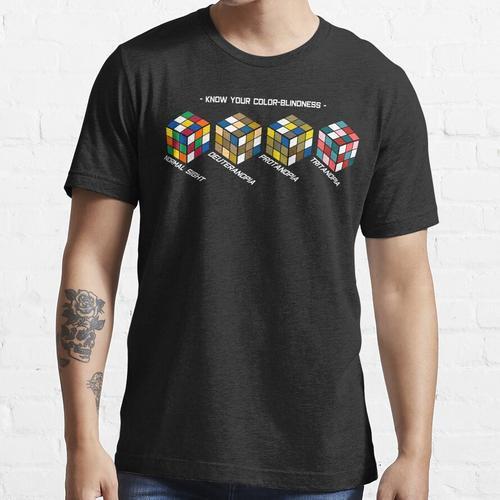 Kenne deine Farbenblindheit Essential T-Shirt
