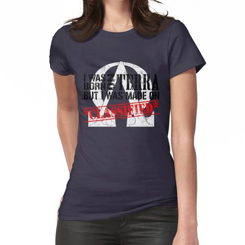 Geboren auf Terra, gemacht am * Kleinanzeige * Frauen T-Shirt