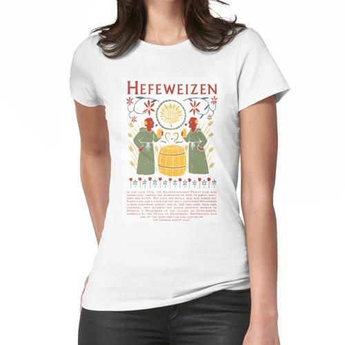 Hefeweizen Weizenbier Deutsch Frauen T-Shirt