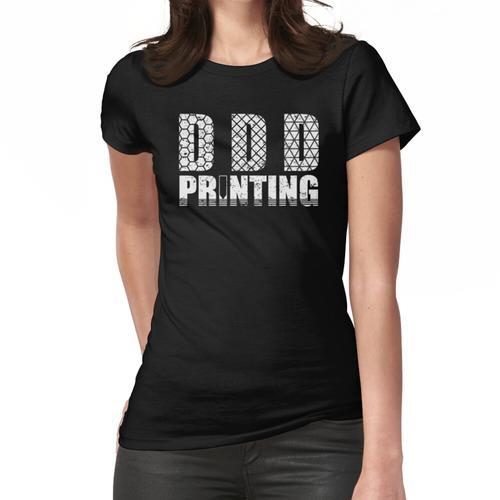 3D-Druck Grafik lustige 3d Drucker Humor T-Shirt Frauen T-Shirt