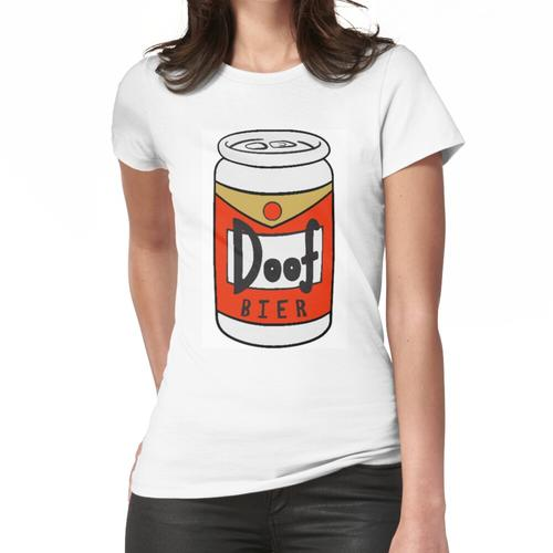 Doof Bier - Dumb Beer in German, Duff Frauen T-Shirt