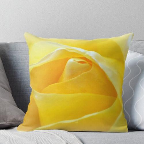 Zitronenblätter Kissen