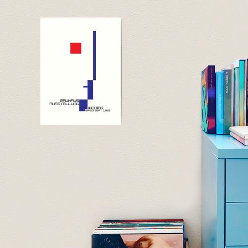 Bauhaus # 4 Kunstdruck
