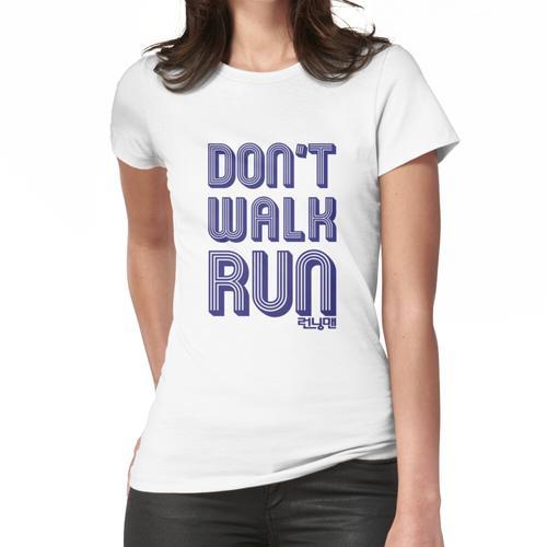 Laufender Mann - Lauf nicht Laufen Frauen T-Shirt